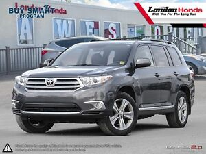 2012 Toyota Highlander One Owner, 4X4, Mint Condition!!