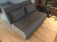 Small 2-seater sofa bed