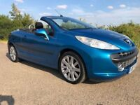 Peugeot 207cc 1.6 GT Convertible only 64000 miles