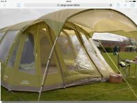 Vango Airbeam Lumen 6 person tent also beds,sleeping bags,etc,etc