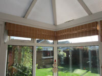cane conservatory blinds