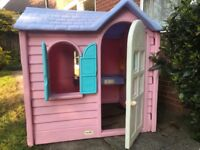 Garden Play House by Little Tikes.