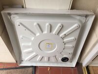 760x760 Mira square shower tray - used.