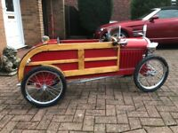 Ford woodie roadster pedal car
