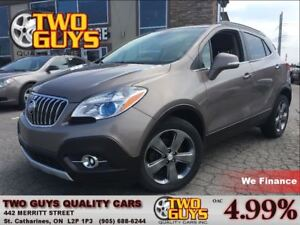 2014 Buick Encore 2 TONE LEATHER REMOTE START BUICK LEASE RETURN