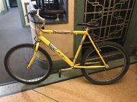 Yellow bike for sale