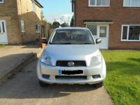 DAIHATSU TERIOS 1.5 MANUAL, FULL SERVICE HISTORY, LONG MOT EXCELLENT RUNNER,1 LADY OWNER FROM NEW