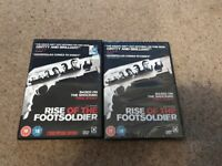 Rise of the footsolider films x 2