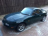 MX5, Eunos Roadster 1993, V Special Edition with hard top and private plates