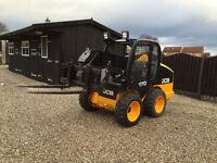 2008 Jcb Robot 170 Only 209 Hours Skidsteer Forklift Loader Bobcat
