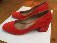 Red M & S Shoes