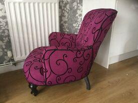 Victorian bedroon chair
