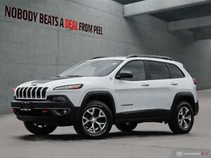 2017 Jeep Cherokee Trailhawk*Pwr Gate*Rem Start*8.4Screen*Cam*CL
