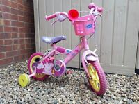 Peppa bike 12' good condition