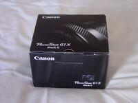 Canon powershot G1X MK II Digital camera brand new boxed. g1x mk 2