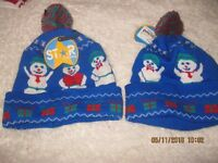 GIRLS BOYS CUTE WINTER CHRISTMAS WARM HAT