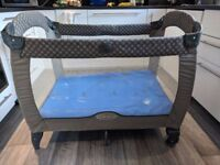 Graco Travel Cot and a Mattress
