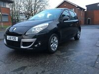 RENAULT SCENIC 2011 DCI 110BHP 1 OWNER FROM NEW FULL SERVICE HISTORY FULLY LOADED READY TO GO