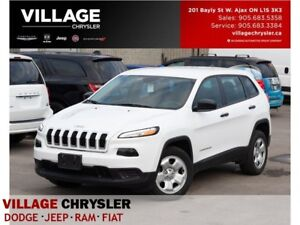2017 Jeep Cherokee Sport|Bluetooth|Accident Free|One Owner