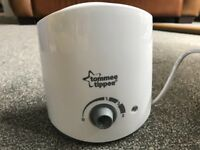Tommee Tippee Bottle Warmer- excellent condition