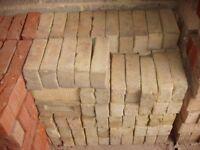 175 Unused Buff Facing Bricks