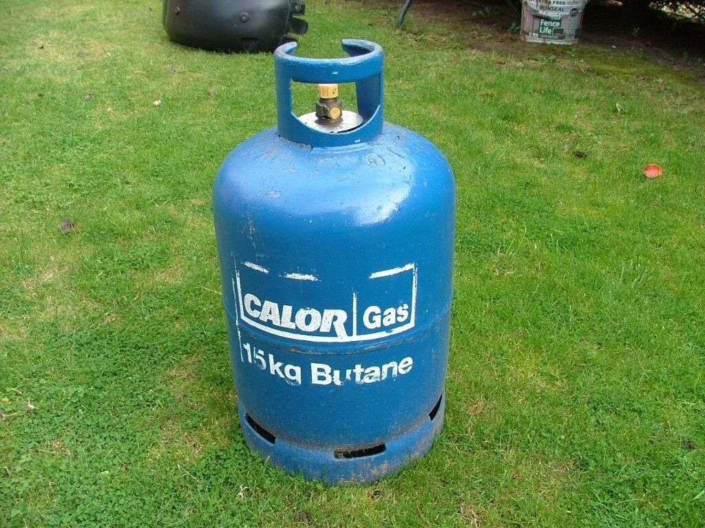 Calor Gas butane 15kg bottle (empty)