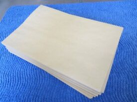 100 Large Manilla Envelopes