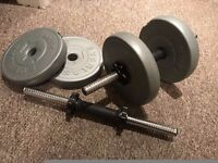 everlast 10kg dumbell --in very good condition!