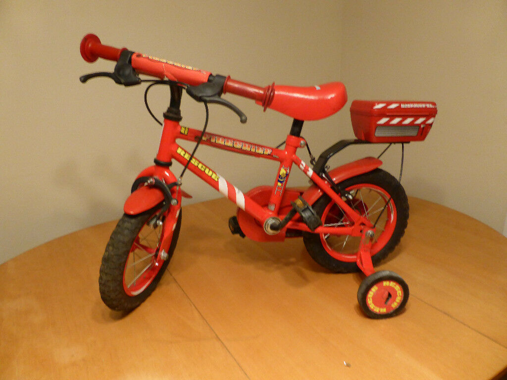 Apollo Firechief Kids Bike - 12 inch Wheel
