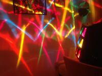 Soundlab Black 600 W Valera Lighting Effect with Sound Activation