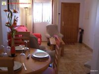 Costa Blanca, Spain. 2 bedroom, 1st floor apt, sleeps 4, English TV, Air con from £225 (SM073)