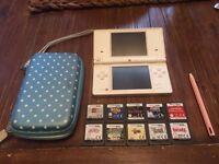 Nintendo DS Lite Bundle - 10 games!