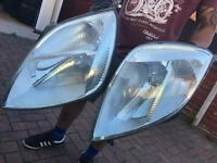 Ford Fiesta st front lights 05 plate