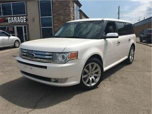 2011 Ford Flex Limited AWD LEATHER BIG CHROME RIMS