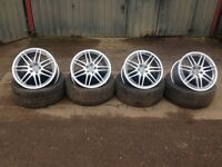 "Audi 19"" alloys and tyres!"