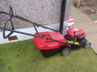 Mountfield self proppeled petrol lawnmower with grass box