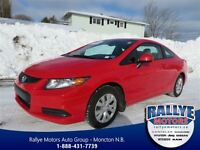 2012 Honda Civic LX! Trade-In! Save! Low KM!
