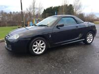 2003 MG TF 1.6 Convertible HardTop Only 42,000 Miles! MOT October 2017!