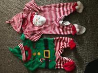 Newborn Christmas outfits