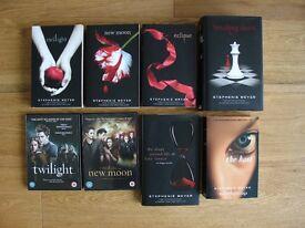 Stephanie Meyer Twilight Saga & The Host Books & DVD Set, Excellent Condition