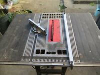 TABLE - BENCH SAW