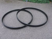 "22"" Bass Drum Hoops x 2"