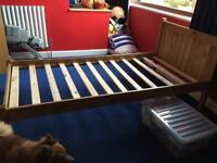 2 of wooden single beds ( together or separate)