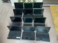 12 laptops joblot