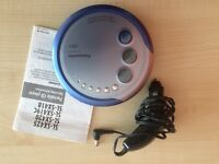Panasonic portable CD, MP3 player