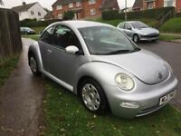 Vw beetle. Tdi. 100 hp 2004 private plate cards taken. PX