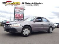 2001 Honda Accord LX!!!   JUST REDUCED TO $1250