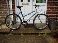 "DAWES, QUALITY BRAND LADIES, MOUNTAIN BIKE, 20"" FRAME, 26"" ALLOY WHEELS."