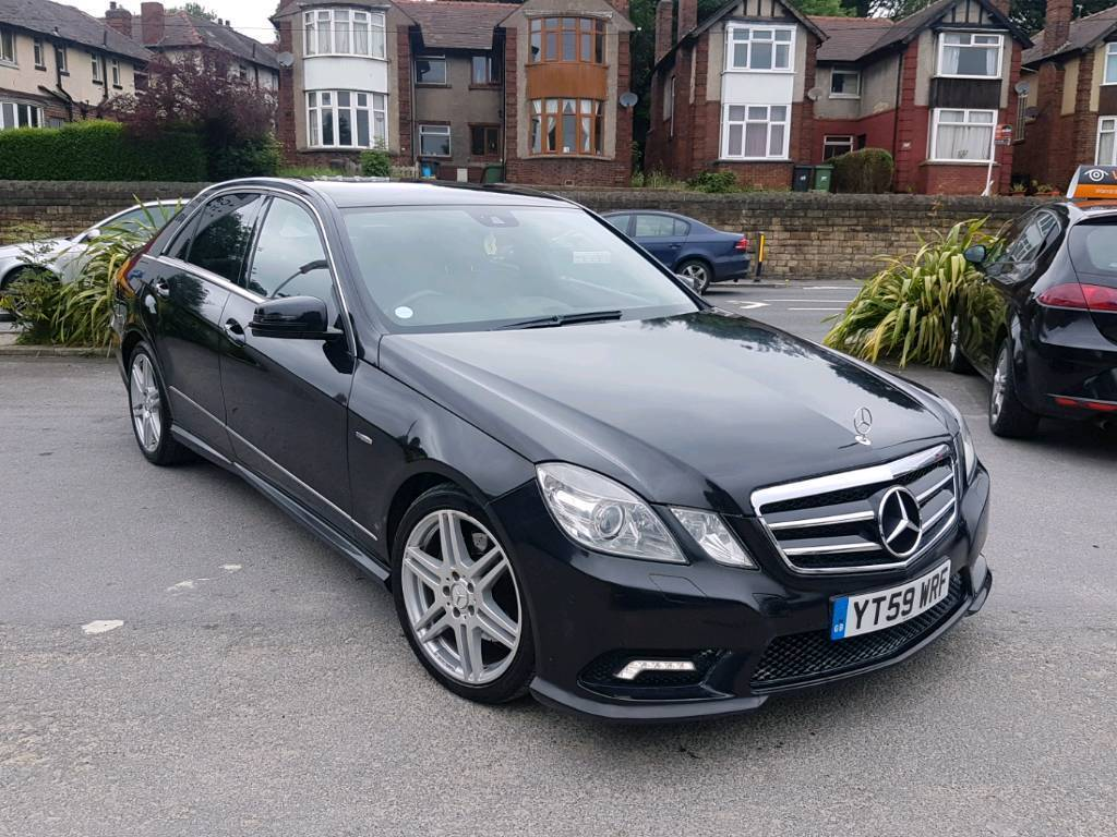 2010 mercedes e class e350 cdi amg sport auto 4 door black low mileage top spec hpi clear in. Black Bedroom Furniture Sets. Home Design Ideas