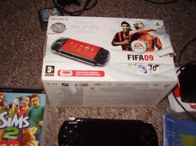 SONY PSP ALL BOXED WITH GAMES